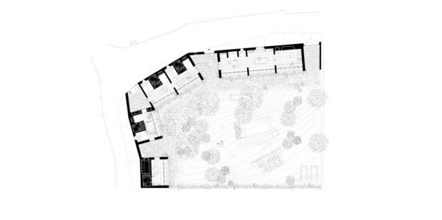 1413 harquitectes casa ullastret adria goula planta
