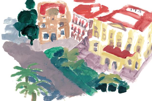 Dibujo shopping map Pol Montserrat