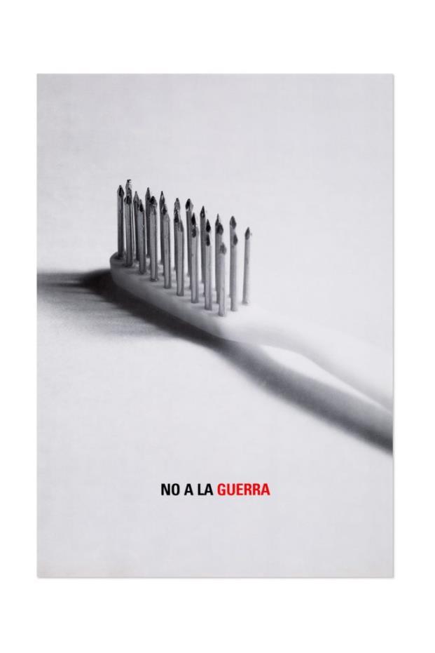 Cartel No A La Guerra Isidro Ferrer