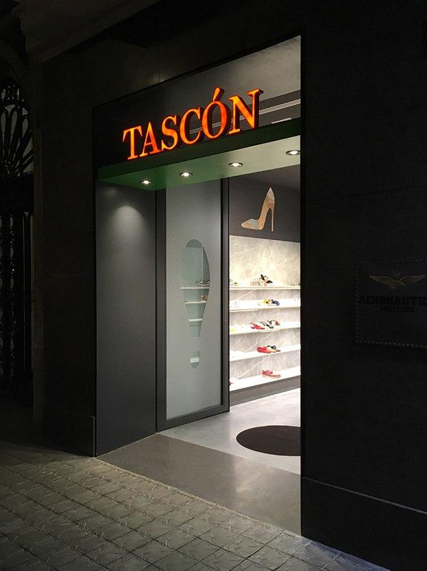 tascón diagonal interior negro salastudio diariodesign
