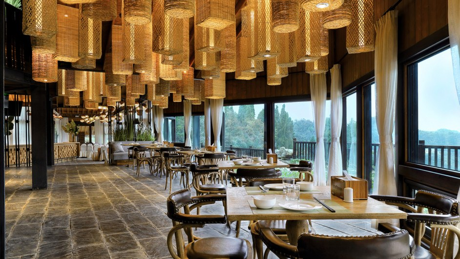 Three Gorges RV Park buffet hotel en china Caiqiao restaurant diariodesign
