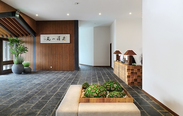 hotel en china en Yichang Three Gorges RV Park recepción diariodesign