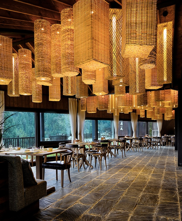 hotel en china Three Gorges RV Park restaurante diariodesign