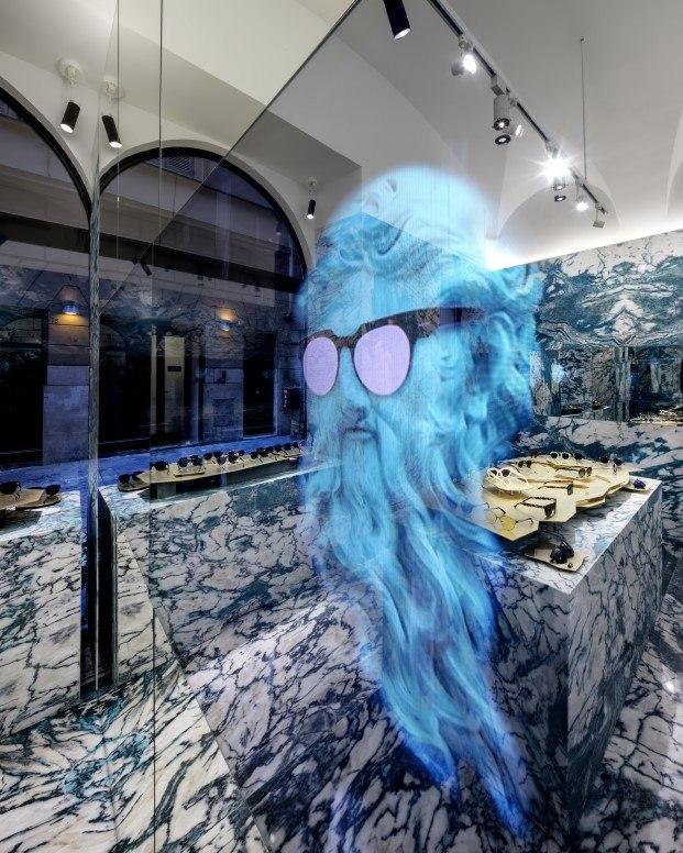 la marca de gafas de sol hawkers abre flagship en roma diariodesign