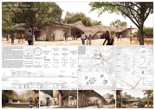 kaira looro competition for a cultural center diariodesign honorable mencion