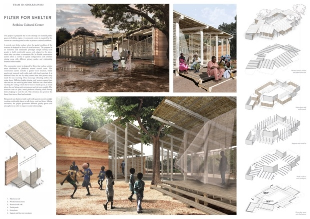 kaira looro competition for a cultural center diariodesign premio tercero