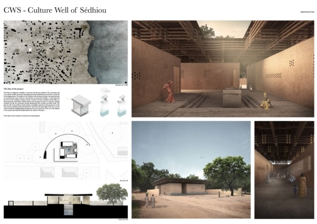 kaira looro competition for a cultural center diariodesign primer premio
