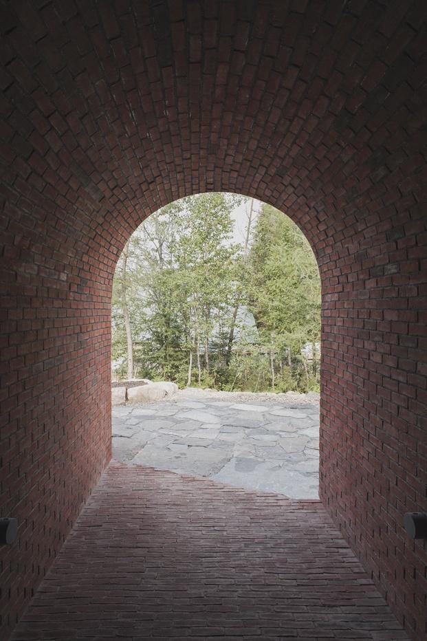 puerta casa quebec atelier barda diariodesign