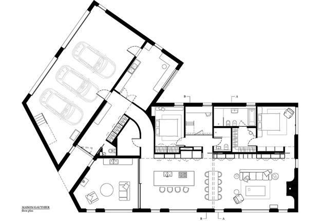 plano casa quebec atelier barda diariodesign