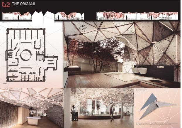 xi premios porcelanosa diariodesign origami