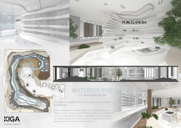 xi premios porcelanosa diariodesign watercourse