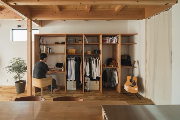 noji house alts design office madera almacenamiento diariodesign