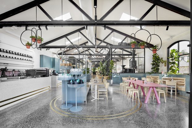 Au 79 Australia Restaurant and Bar Design Awards 2018 diariodesign