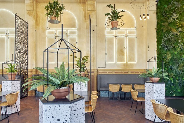 de serre belgica restaurant and bar design awards 2018 diariodesign