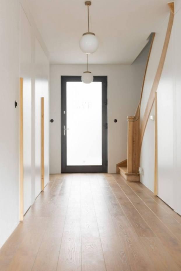 entrada apartamento de estilo vintage en Szczecin diariodesign