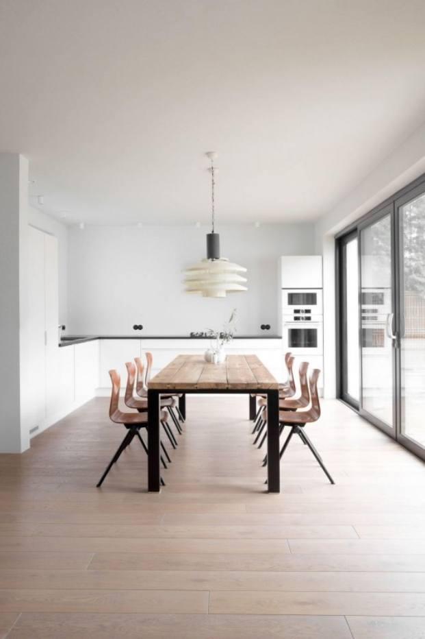 cocina apartamento de estilo vintage en Szczecin diariodesign
