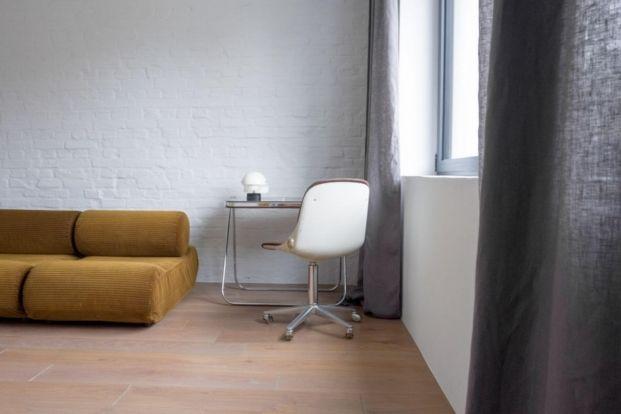 escritorio apartamento de estilo vintage en Szczecin diariodesign