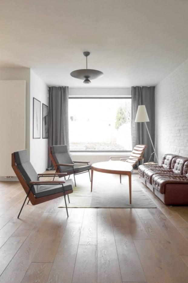 salón apartamento de estilo vintage en Szczecin diariodesign
