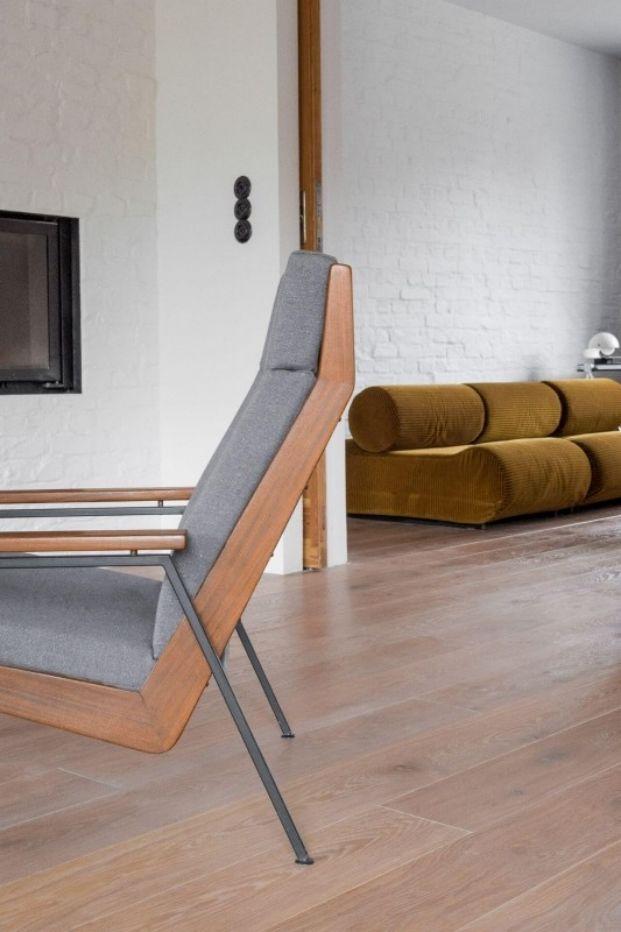 rincón salón apartamento de estilo vintage en Szczecin diariodesign
