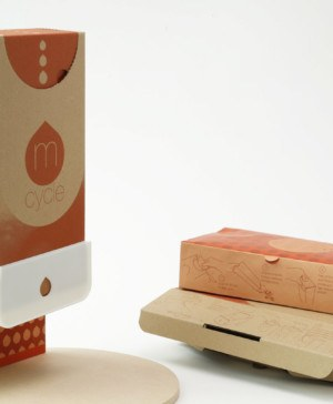 mcycle cajas de carton para menstruacion sostenible diariodesign