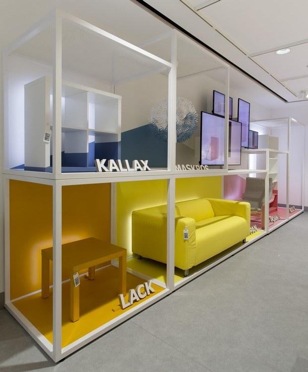 muebles miticos ikea en la tienda del centro de madrid diariodesign