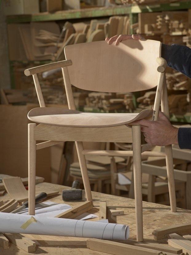 n01 silla de nendo fritz hansen produccion diariodesign