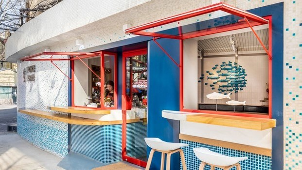 poke poke china restaurant and bar design awards 2018 diariodesign