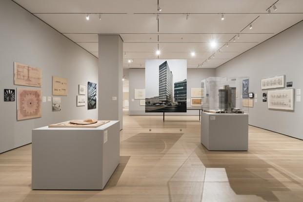 sala exposicion arquitectura yugoslavia en el moma diariodesign