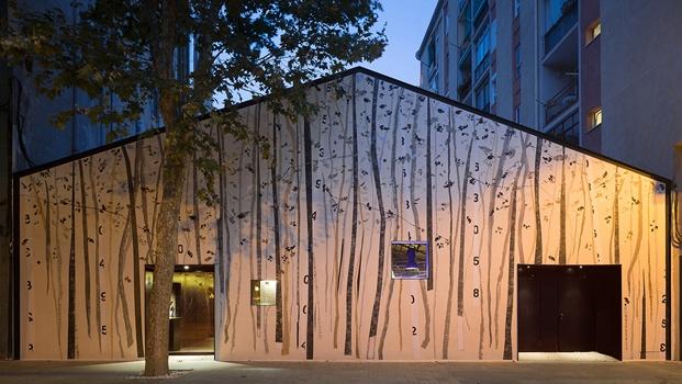 exterior espacio hermanos torres en barcelona diseñado por oab diariodesign