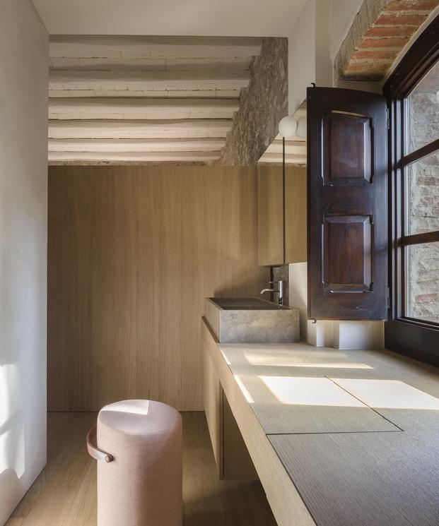 antigua masía francesc rifé baño diariodesign