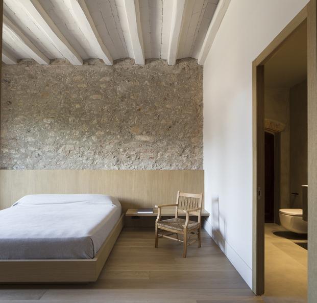 antigua masía francesc rifé dormitorio diariodesign