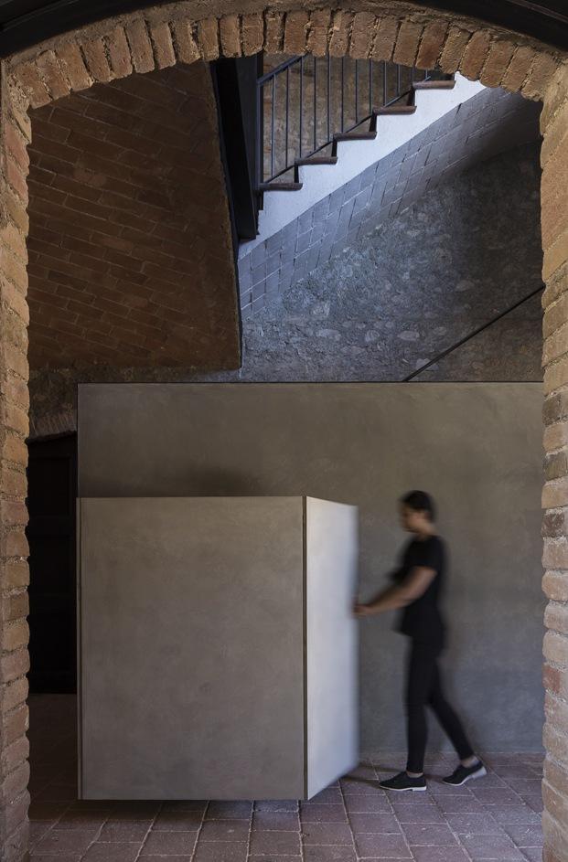 antigua masía francesc rifé bóveda ladrillo diariodesign