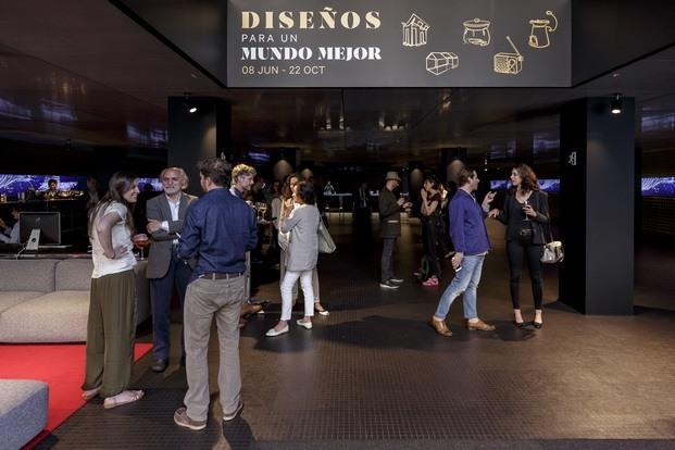 Entrada Exposición Diseño para un Mundo Mejor Roca Barcelona Gallery diarioDESIGN