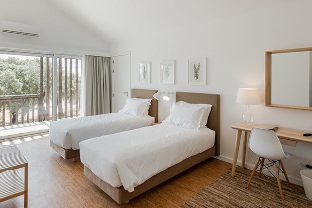 hotel sobreiras alentejo country diariodesign dormitorio
