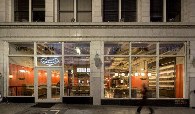 jdawgs entrada restaurante diariodesign