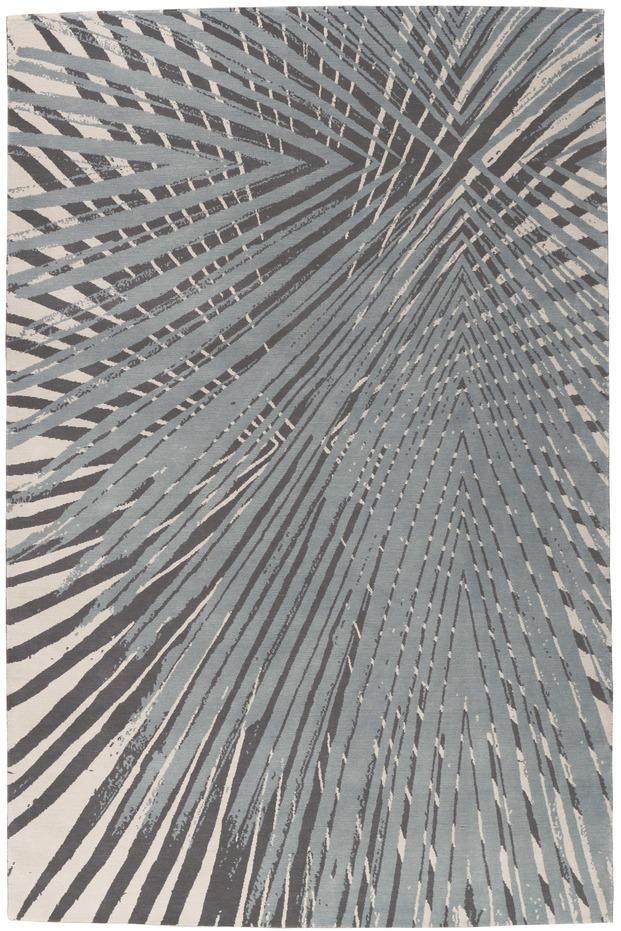 Alfombra dibujos gráficos palmeras de Allegra Hicks para The Rug Company diariodesign