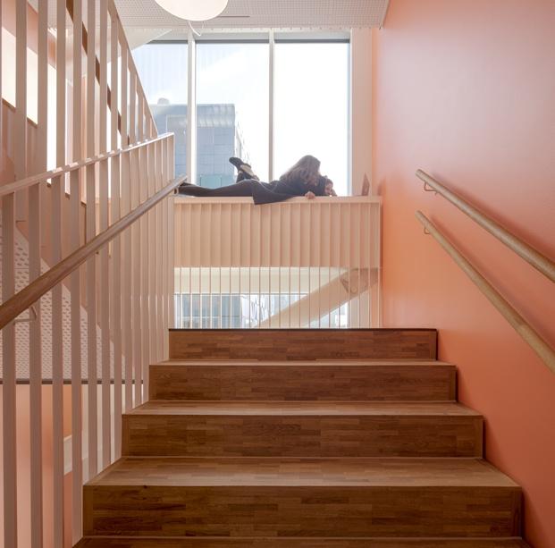 escalera escuela en copenhague cis nordhavn diariodesign