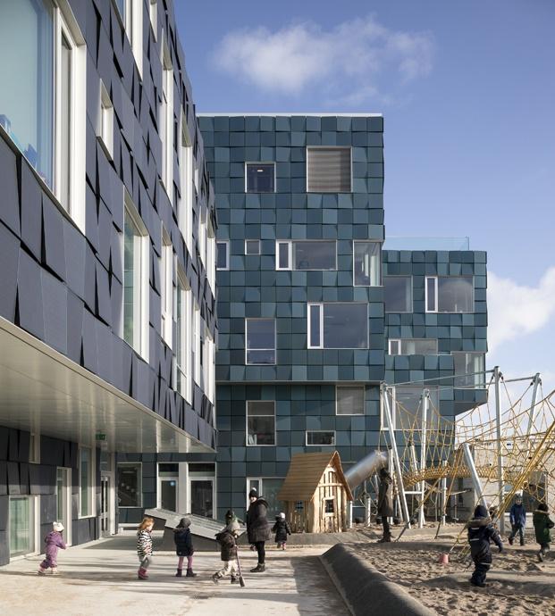 exterior escuela en copenhague cis nordhavn diariodesign