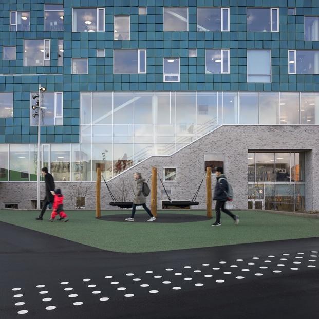 patio escuela en copenhague cis nordhavn diariodesign