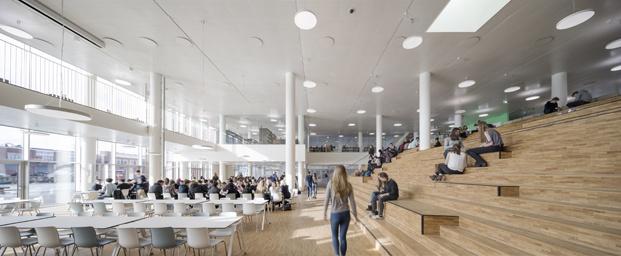 interior escuela en copenhague cis nordhavn diariodesign