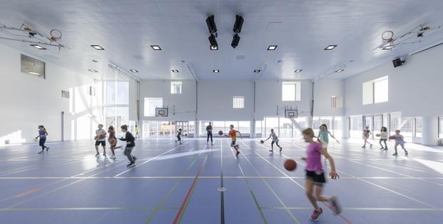 polideportivo escuela en copenhague cis nordhavn diariodesign