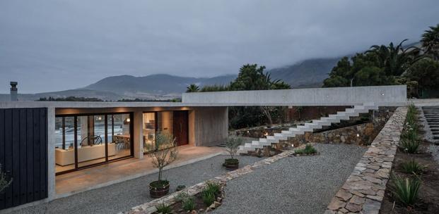 casa de estética brutalista felipe assadi entrada diariodesign