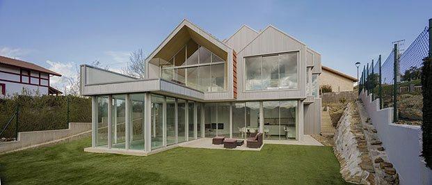 jardín casa en zumaia pura arquitectura diariodesign