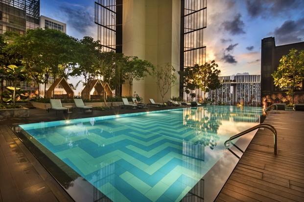 hotel oasia piscina diariodesign