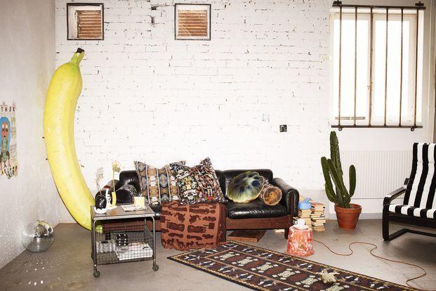 plátano gigante decorativo