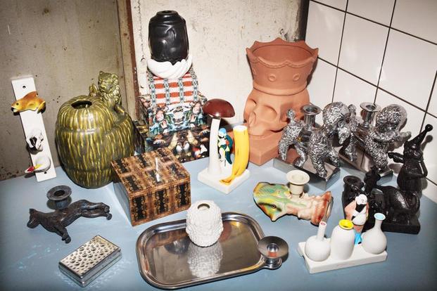 Objetos decorativos kitch