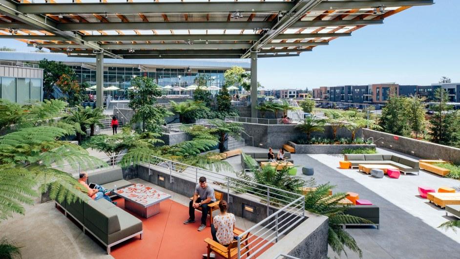 oficinas de facebook terraza diariodesign