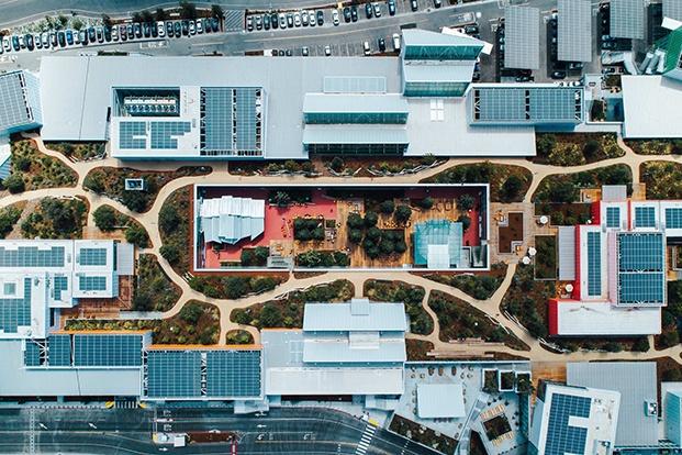 vista aérea oficinas de facebook diariodesign