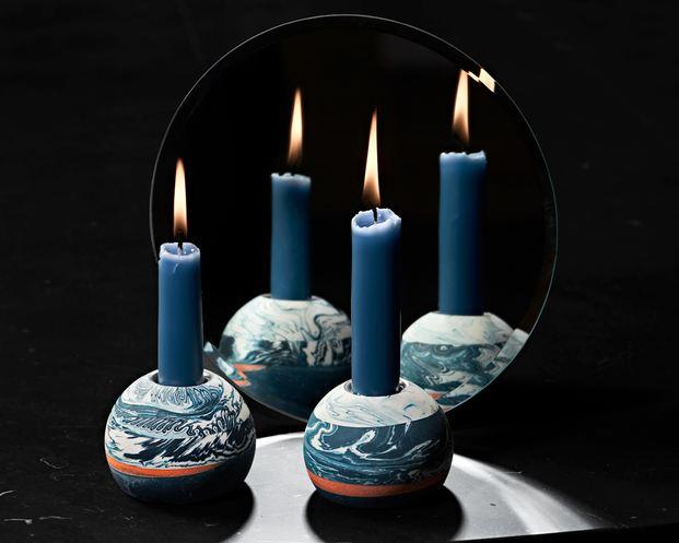 Porta velas de Ragna Ragnarsdóttir Formex Nova 2018