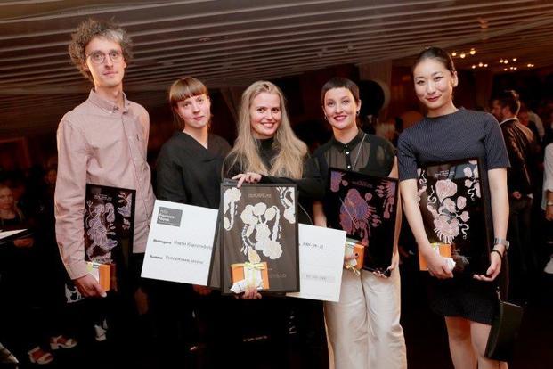 Nominados y ganadora Ragna Ragnarsdóttir Formex Nova 2018